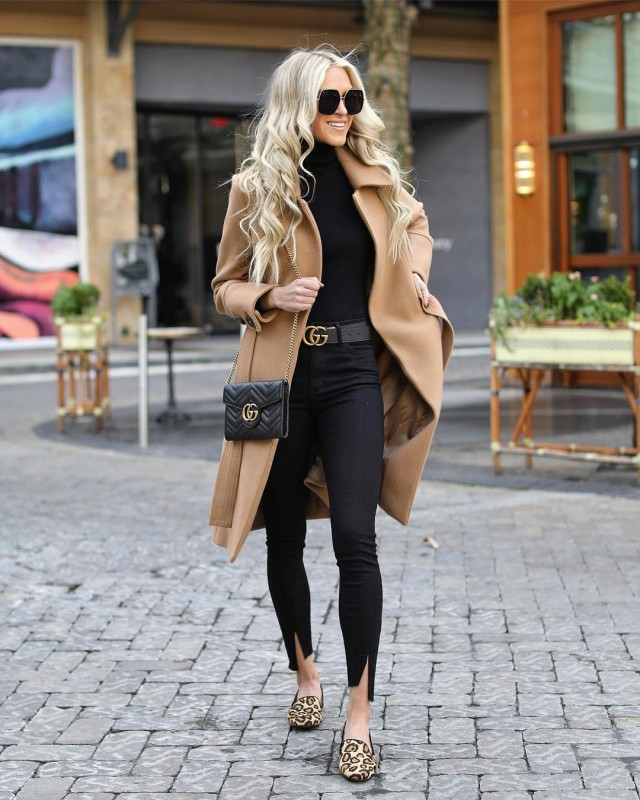 Black and Camel Combo