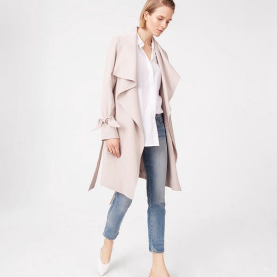 Ellayne Trench By Club Monaco