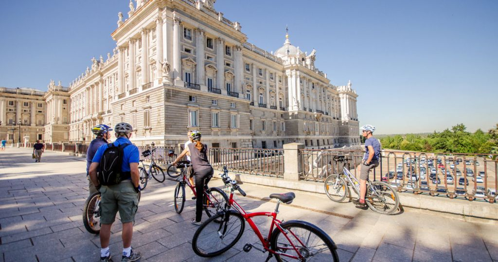 Scenic Madrid City Cycling Tour